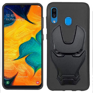 Ironman Engraved Silicone Case For Samsung Galaxy A30