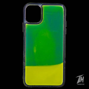 Green Glow in the dark case for Apple iphone 12 mini