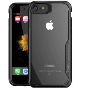 Shockproof Silicone Transparent protectionCase for Apple iphone 8
