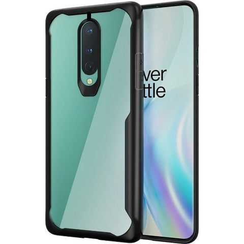 Shockproof transparent silicone protection case for Oneplus 8