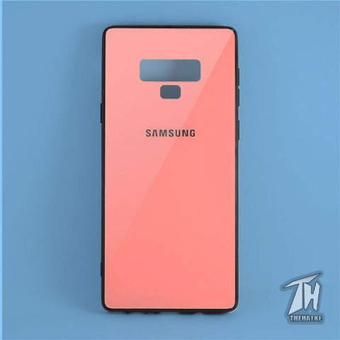 Rose gold mirror Silicone Case for Samsung note 9