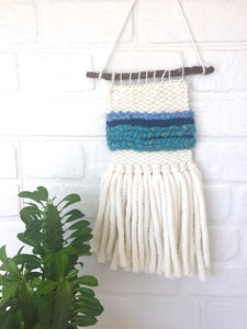 Mini Wall Hanging - Turquoise/Blue