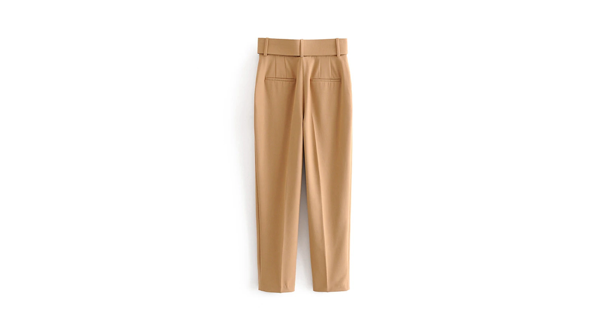 Woman's High Waist Suit Pants