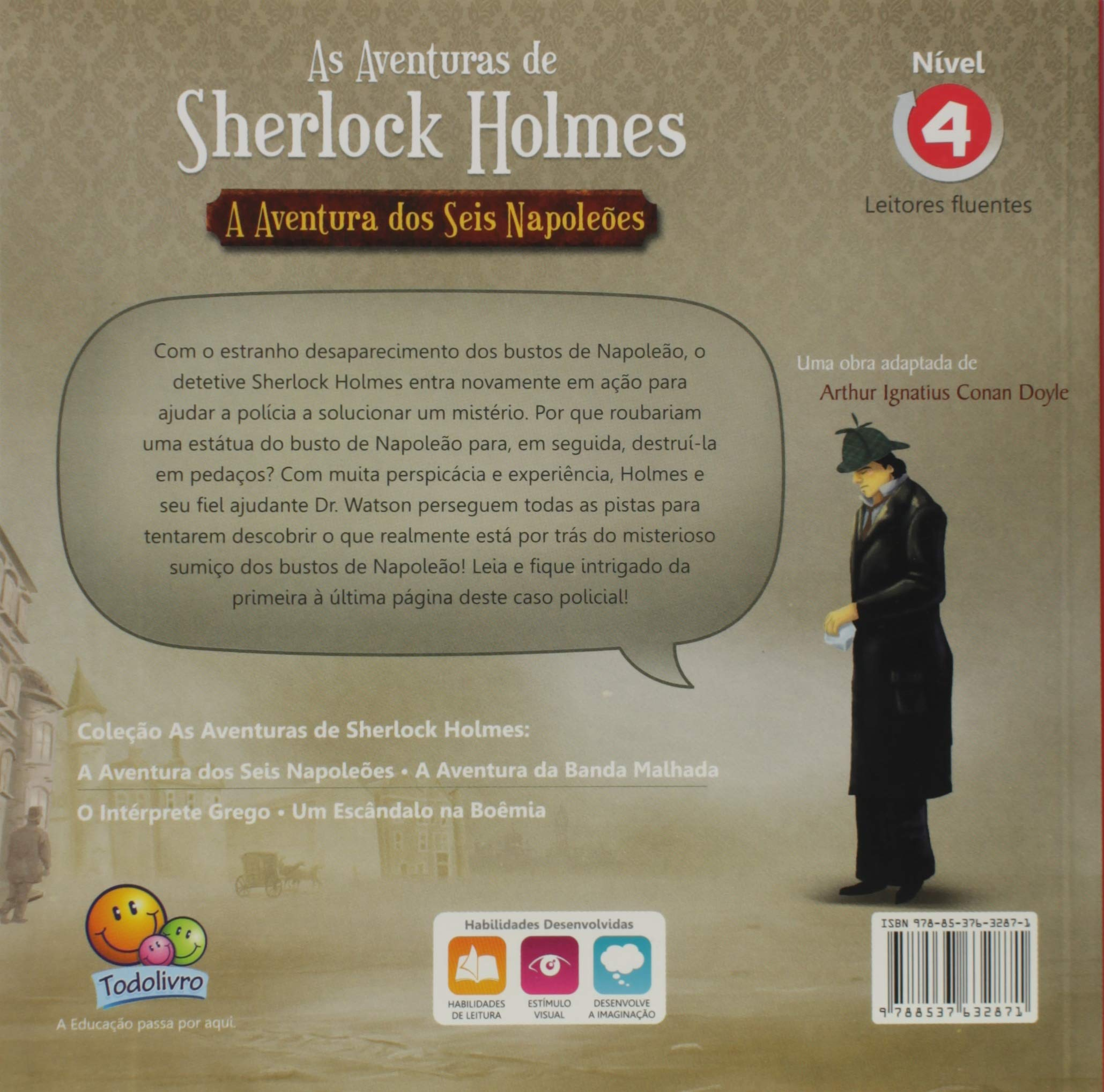 As aventuras de Sherlock Holmes: A aventura dos seis Napoleões / Sherlock Homes: The six Napoleon Adventure
