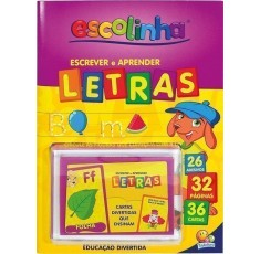 Aprenda com Cartas! Letras / Learn with Cards: Letters