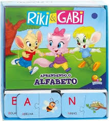 Riki e Gabi - Aprendendo o alfabeto / Learning the Alphabet