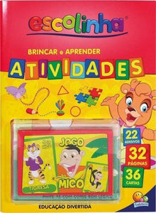 Aprenda Com Cartas! Brincar E Aprender - Atividades (Mico) / Learning with cards: Activities