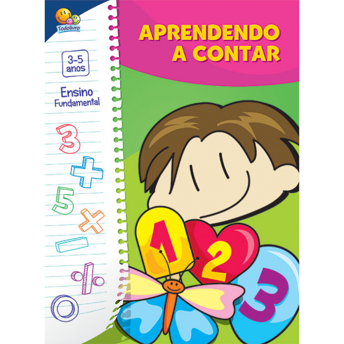 Brincando c/ a Matemática:Aprendendo a Contar / Playing with maths: learning to count