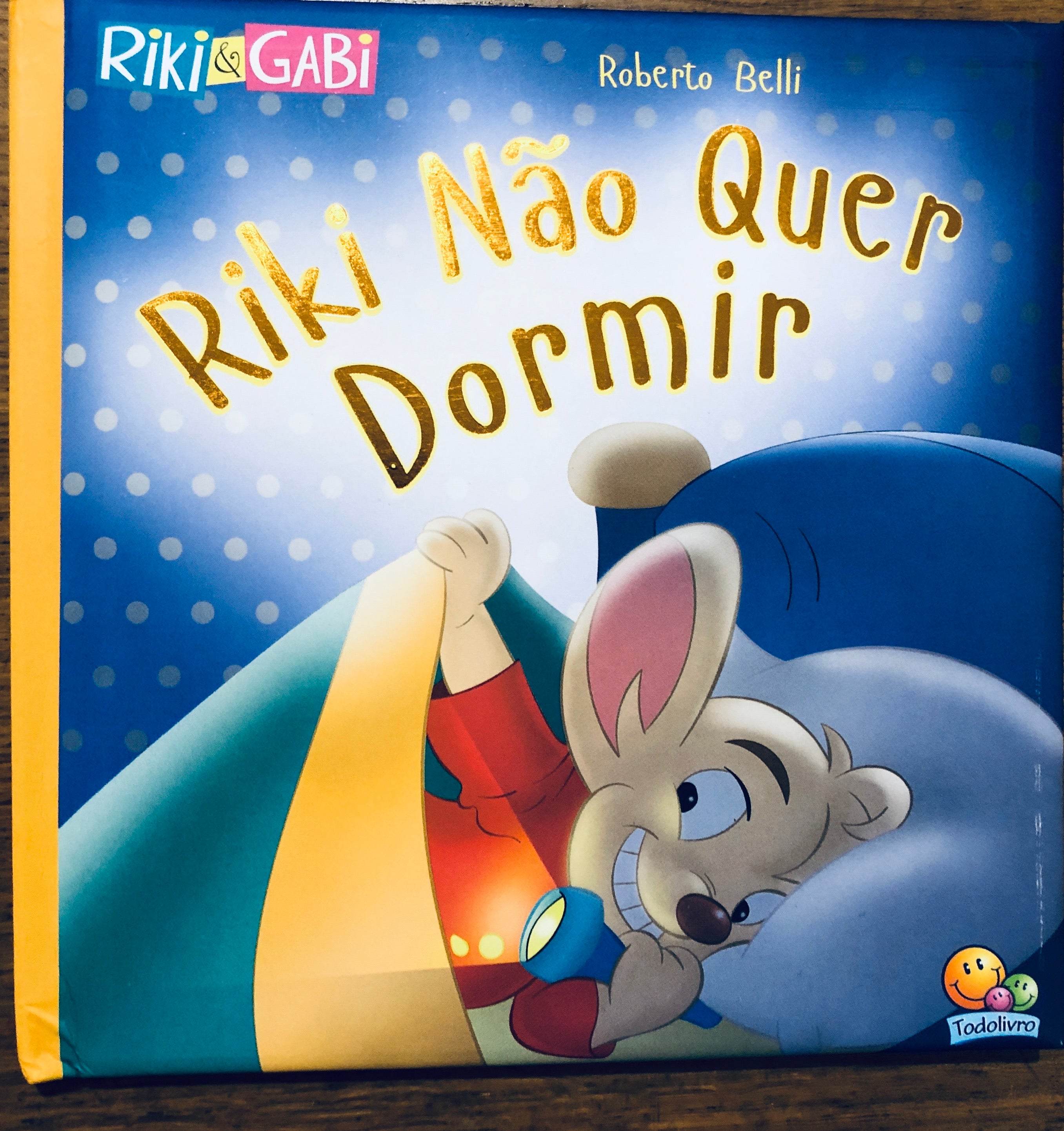 Riki não quer dormir / Riki doesn't want to sleep