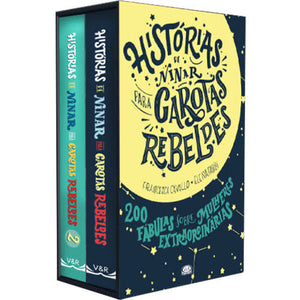 Histórias para ninar garotas rebeldes - COMBO / Bedtime stories for rebellious girls - COMBO