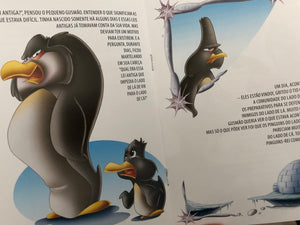 Sentimentos: o pinguim que gostava do calor (solidariedade) /Feelings: the penguin who liked the heat (solidarity)