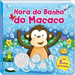 Abas e aventuras! Hora do banho do macaco / Monkey's Bathtime