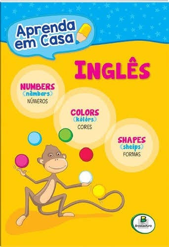Aprenda em casa - inglês - números / cores / formas / Learn from home: numbers, colours and shapes