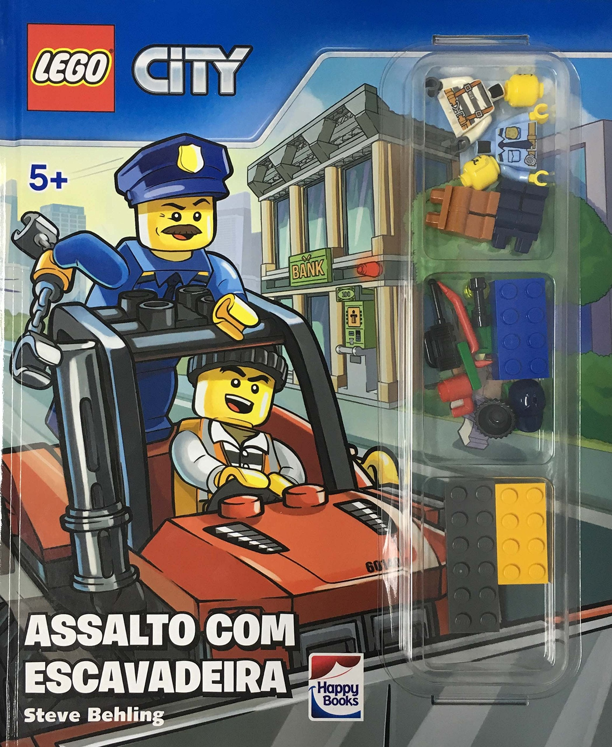 Lego® City - Assalto Com Escavadeira / Lego City - Assault With Excavator