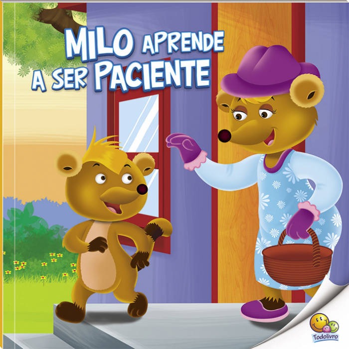 Aprenda bons modos: Milo aprende a ser paciente / Learning good manners: Milo learns to be patient