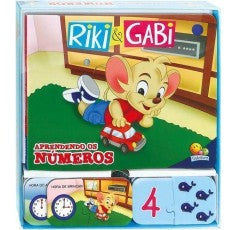 Riki e Gabi - Aprendendo os números / Learning the numbers