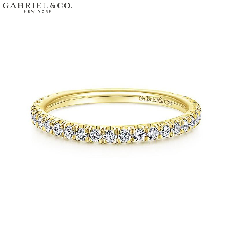 14Kt 0.42Ctw Natural Diamond Ring Yellow Gold Jewellery