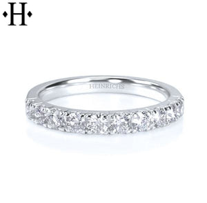14Kt 0.50Ctw Diamond Ring 2.5Mm Wed & Anniv
