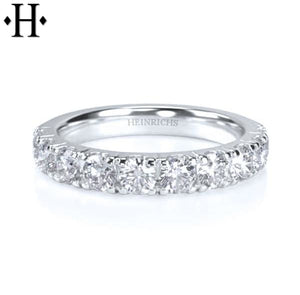 14Kt 1.00Ctw Diamond Ring 3.5Mm Wed & Anniv