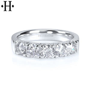 14Kt 1.00Ctw Diamond Ring 4.5Mm Wed & Anniv