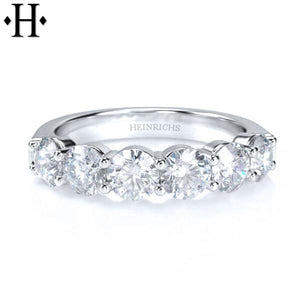 14Kt 1.50Ctw Diamond Ring 4.5Mm Wed & Anniv