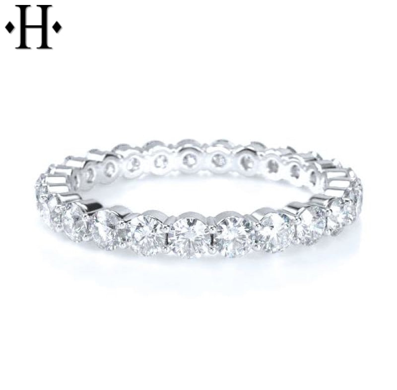 14Kt 2.5Mm Diamond Eternity Ring Wed & Anniv