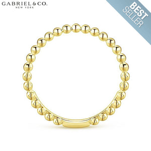 14Kt Stackable Ring Jewellery