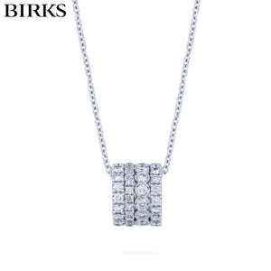 18kt Splash Diamond Necklace