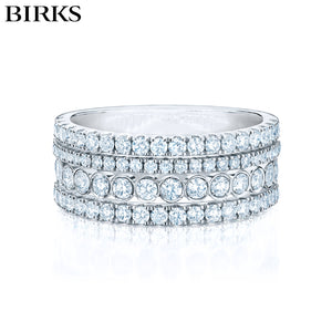 18KW Splash Diamond Ring