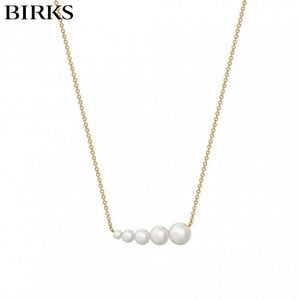 18kt Gold and Pearl Necklace