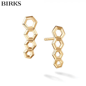 18KY Bee Chic Earrings