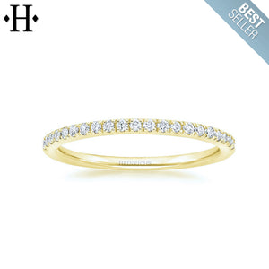 14kt 0.15ctw Natural Diamond Ring 1.7mm