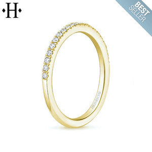 10kt 0.25ctw Natural Diamond Ring 2.0mm