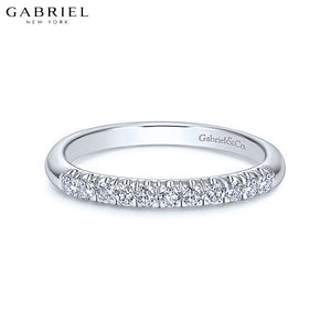 14kt 0.20ctw Natural Diamond Ring 2.4mm