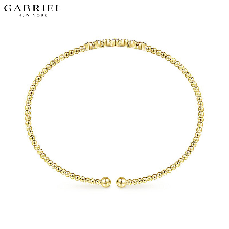 14kt 0.14ctw Natural Diamond Bujukan Bracelet