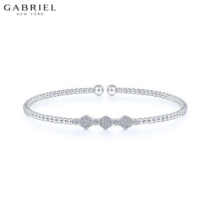 14kt 0.14ctw Natural Diamond Bracelet