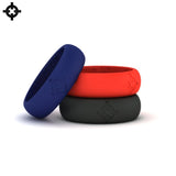 Silicone Wedding Rings (3-Pack)