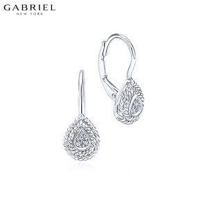 14kt 0.06ctw Natural Diamond Earrings