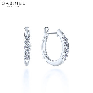 14kt 0.22ctw Natural Diamond Earrings