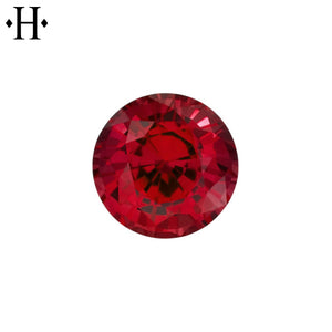 7.0mm Round Ruby AA Lab Grown