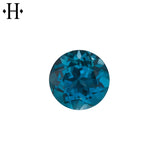 6.0mm Round London Blue Topaz AA Mined