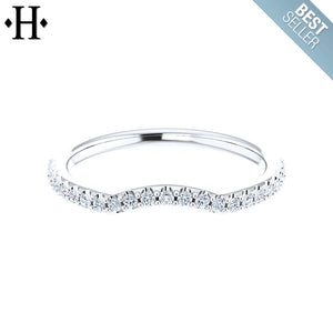 14kt 0.23ctw Lab Grown Diamond Ring 1.5mm