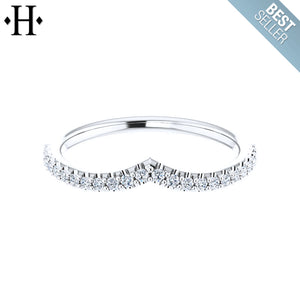 14kt 0.23ctw Lab Grown Diamond Ring 1.8mm