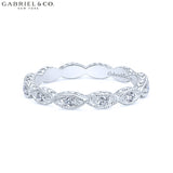 14kt 0.11ctw Natural Diamond Ring
