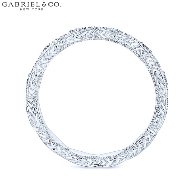 14kt 0.11ctw Natural Diamond Ring 2.7mm