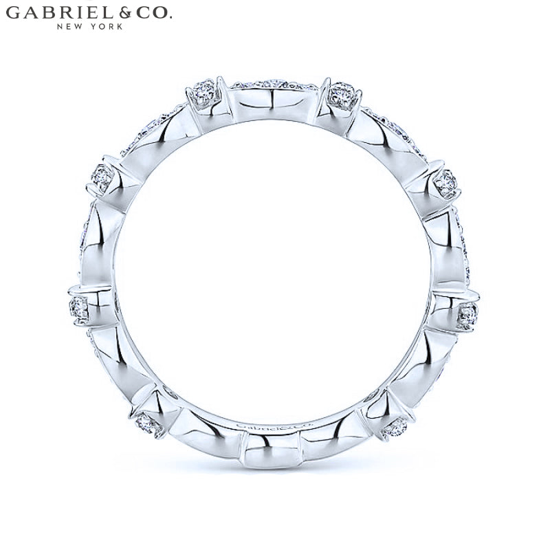 14kt 0.28ctw Natural Diamond Ring 3.1mm
