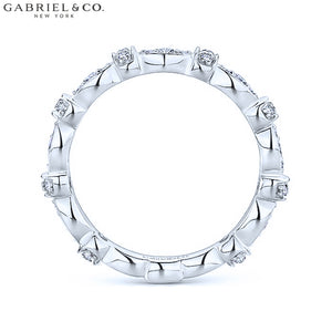 0.28cts Natural Diamond Ring 3.1mm