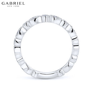 14kt 0.19ctw Natural Diamond Ring 3.0mm