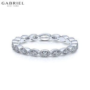 14kt 0.25ctw Natural Diamond Ring 2.5mm