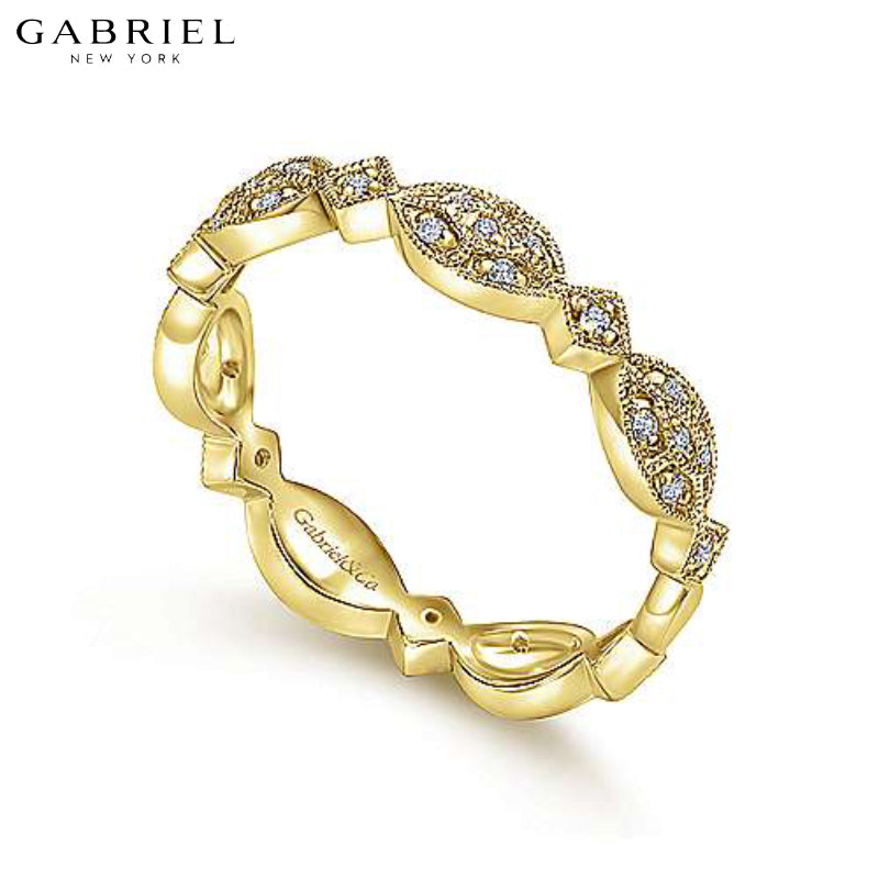 14kt 0.15ctw Natural Diamond Ring